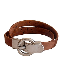 ARTELUSA Bracelet with Small Buckle Brown