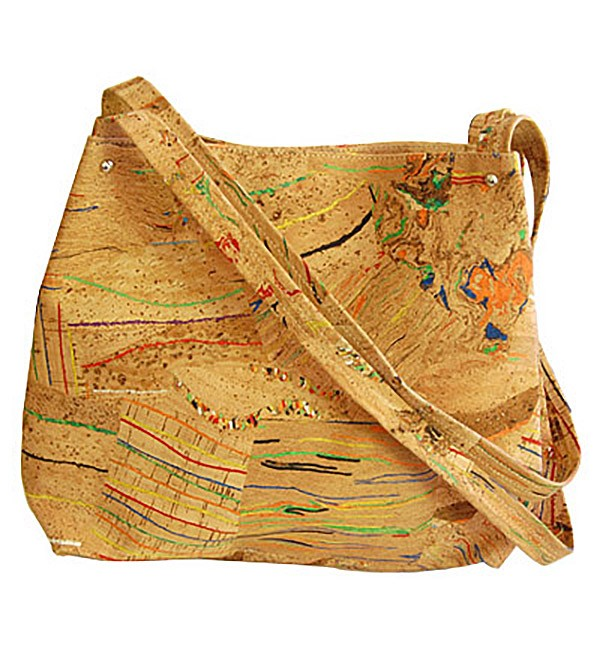 CORX Maia Cork Shoulder Bag Eco-Friendly Handmade in Portugal